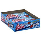 Sweet Tarts Candy, Soft & Chewy, Tangy Strawberry Flavor, Ropes, Share Pack