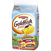 Pepperidge Farm Goldfish Cheeseburger Baked Snack Crackers