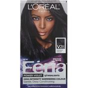 L'Oreal Permanent Haircolour Gel, Deepest Violet V28