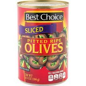 Best Choice Sliced Pitted Ripe Olives