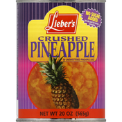 Lieber's Pineapple, Crushed