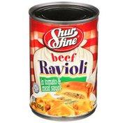 Shurfine Beef Ravioli In Tomato & Meat Sauce