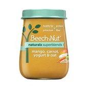 Beech-Nut Naturals Superblends Mango, Carrot, Yogurt & Oat