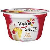 Yoplait Greek Pina Colada Low Fat Yogurt
