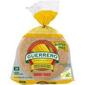 Guerrero Ranchero Style King Size Corn Tortillas