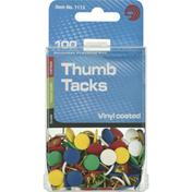 Ava Thumb Tacks, Vinyl Coated