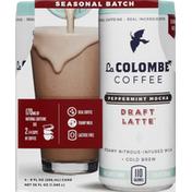 La Colombe Coffee Drink, Real, Peppermint Mocha, Seasonal Batch