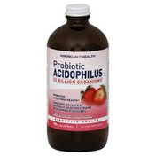 American Health Probiotic Acidophilus, Natural Strawberry Flavor