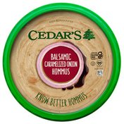 Cedar's Foods Balsamic Caramelized Onion Hommus