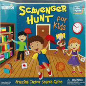 University Games Amazing Indoor Search Game, Scavenger Hunt for Kids, Ages 6 and Up