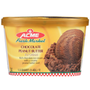 Acme Chocolate Peanut Butter Ice Cream With A Creamy Peanut Butter Swirl