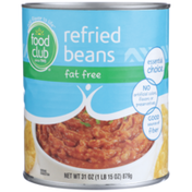 Food Club Fat Free Refried Beans