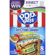 Pop-Tarts Toaster Pastries, Frosted Rainbow Cookie Sandwich