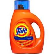 Tide Original Scent HE Turbo Clean Liquid Laundry Detergent, 40 oz, 25 loads