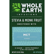 Whole Earth & Sea Sweetener, with MCT Power, Stevia & Monk Fruit