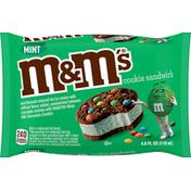 M&M's Cookie Sandwich, Mint