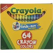 Crayola Crayon Colors, Nontoxic