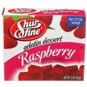 Shurfine Raspberry Gelatin Dessert