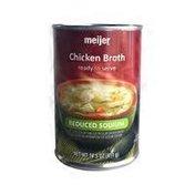 Meijer Chicken Fat Free Reduced Sodium Broth