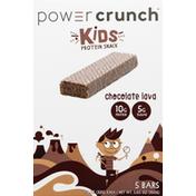 Power Crunch Protein Snack Bar, Chocolate Lava