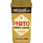 Forto Energy Coffee, Organic, Chocolate Latte