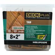 Hillman Group Screws, Tan, Wood & Fence