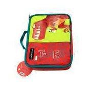 "Crocodile Creek 10"" Eco Kids Dinosaur T-Rex Insulated Lunchbox With Handle"