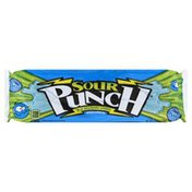 Sour Punch Candy, Blue Raspberry Straws