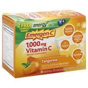 Emergen-C Fizzy Drink Mix, Vitamin C, 1000 mg, Tangerine Flavored