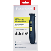 Remington Total Grooming Kit, Rechargeable, Ultrastyle