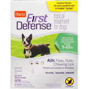 Hartz First Defense Topical Treatment for Dogs