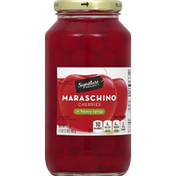 Signature Kitchens Maraschino Cherries, in Heavy Syrup