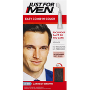 Just For Men Easy Comb-In Color, Darkest Brown A-50