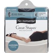 No nonsense Great Shapes All-Over Shaper Size E Midnight Black