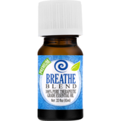Healing Solutions 100% Pure Therapeutic Grade Essential Oil Breathe Blend