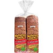 Nature's Own 100% Whole Grain Nature's Own 100% Whole Grain Bread