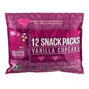 Angie's BOOMCHICKAPOP Snack Packs Vanilla Cupcake - 12 CT