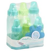 Evenflo Bottle & Soft Soother, Slow Flow, 1 (0+ Months), Value Pack