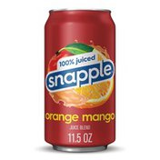 Snapple 100% Juiced Orange Mango Juice Drink