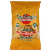 Don Pancho Tortilla Chips, Authentic Restaurant Style, Family Size