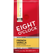 Eight O'Clock Coffee French Vanilla Whole Bean Coffee