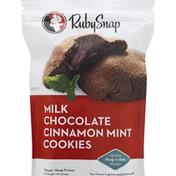 RubySnap Cookies, Milk Chocolate Cinnamon Mint