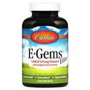 Carlson Labs E-Gems Elite 1,000 IU