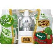 good2grow 100% Juice, Apple, 5 Pack