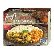 Amy's Kitchen Frozen Indian Mattar Paneer, Non-GMO, Gluten free