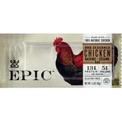 Epic Bar, BBQ Seasoned Chicken, Raisins + Sesame