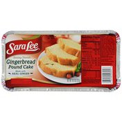 Sara Lee Pound Cake, Gingerbread, 10.3 oz. (Frozen)