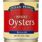 Ocean Prince Oysters, Whole, Boiled