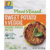 O Organics Burger Patties, Organic, Sweet Potato & Veggie