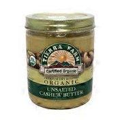 Tierra Farm Organic Unsalted Cashew Butter
